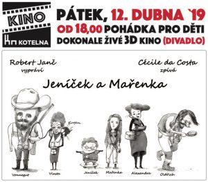 Pro děti: Jeníček a Mařenka @ Kino Kotelna