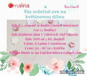 Květinová dílna @ herna MC Maliny v KDL
