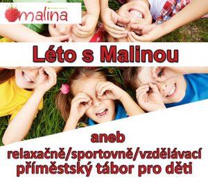 Letní příměstský tábor s Malinou @ Libčice nad Vltavou | Libčice nad Vltavou | Středočeský kraj | Česká republika