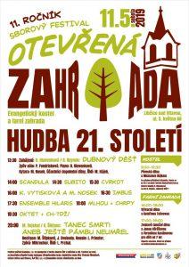 Festival sborového zpěvu Otevřená zahrada - 11. ročník @ Libčice nad Vltavou
