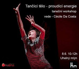7. workshop: Tančící tělo, proudící energie @ galerie ARTO.TO v Uhelném mlýně | Libčice nad Vltavou | Česká republika