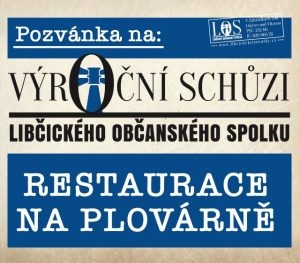 LOS: výroční schůze @ restaurace na plovárně   Libčice nad Vltavou   Středočeský kraj   Česká republika
