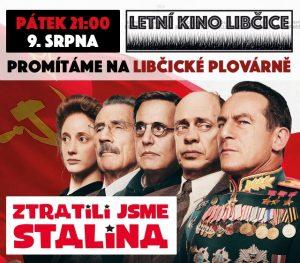 Letní kino: Ztratili jsme Stalina @ Libčická plovárna | Libčice nad Vltavou | Středočeský kraj | Česká republika