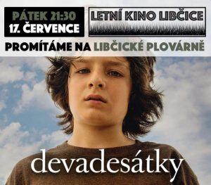 Letní kino: Devadesátky @ Libčická plovárna | Libčice nad Vltavou | Středočeský kraj | Česká republika