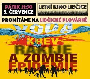 Letní kino: Voda, krev, rakije a zombie epidemie @ Libčická plovárna | Libčice nad Vltavou | Středočeský kraj | Česká republika