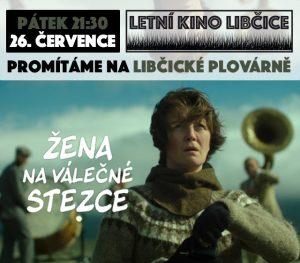 Letní kino: Žena na válečné stezce @ Libčická plovárna | Libčice nad Vltavou | Středočeský kraj | Česká republika