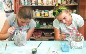 Příměstský tábor s keramikou @ Ateliér Pod Saharou