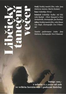 Libčický taneční večer: film, performance @ Kino Kotelna