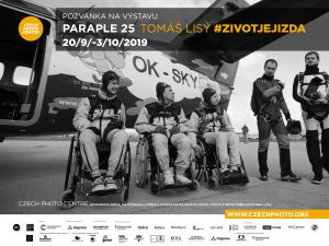 PARAPLE 25 Tomáš Lisý #zivotjejizda @ Czech Photo Centre