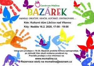 Malinový bazárek @  KD Libčice nad Vltavou | Libčice nad Vltavou | Středočeský kraj | Česká republika