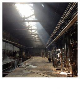 Derniéra výstavy: Bob Nicol - Nostalgia industrialis @ Uhelný mlýn