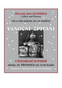 Vánoční zpívání - Scandula v holubické rotundě @ Kostel Narození Panny Marie - původně románská rotunda