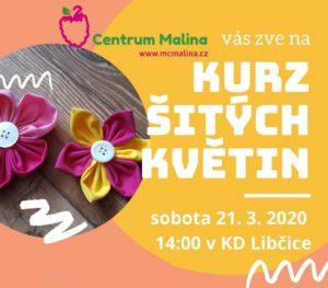 ZRUŠENO: Kurz šitých květin @ herna MC Maliny v KDL
