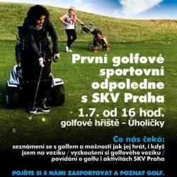 První golfové sportovní odpoledne s SKV Praha @ Golf Snail Úholičky