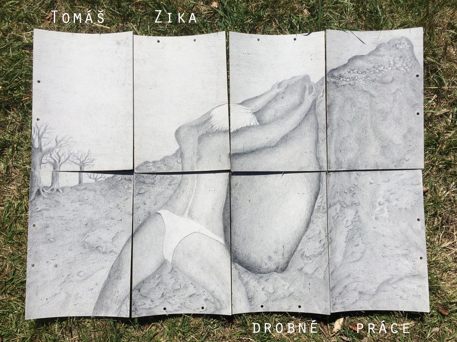 Tomáš Zika - výstava obrazů @ Golf Snail
