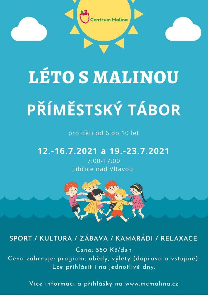 Léto s Malinou: Příměstský tábor @ Libčice nad Vltavou