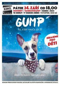 Kino pro děti: Gump - pes, který naučil lidi žít @ Kino Kotelna