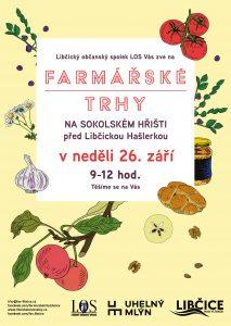 Farmářský trh tentokrát v neděli dopoledne na sokoláku! @ Areál TJ Sokol Libčice - hřiště