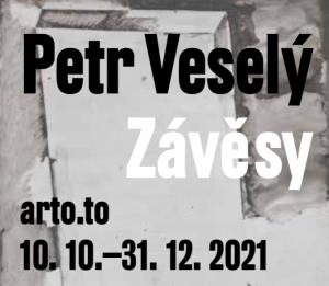 Komentovaná prohlídka výstavy Petr Veselý - Závěsy @ arto.to galerie v Uhelném mlýně